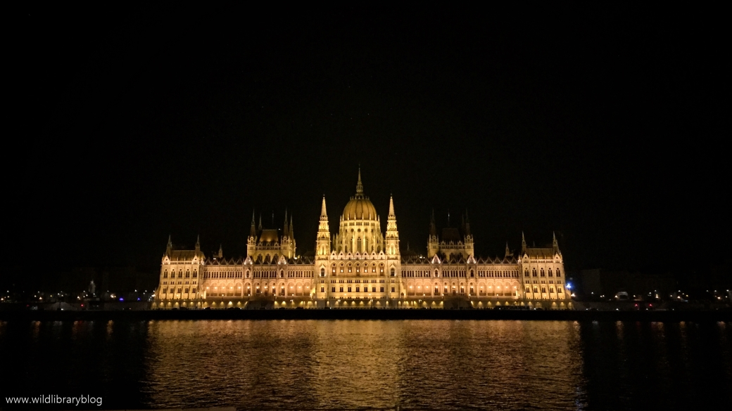 The colours of Budapest_ Wild Library blog_parliment building at night