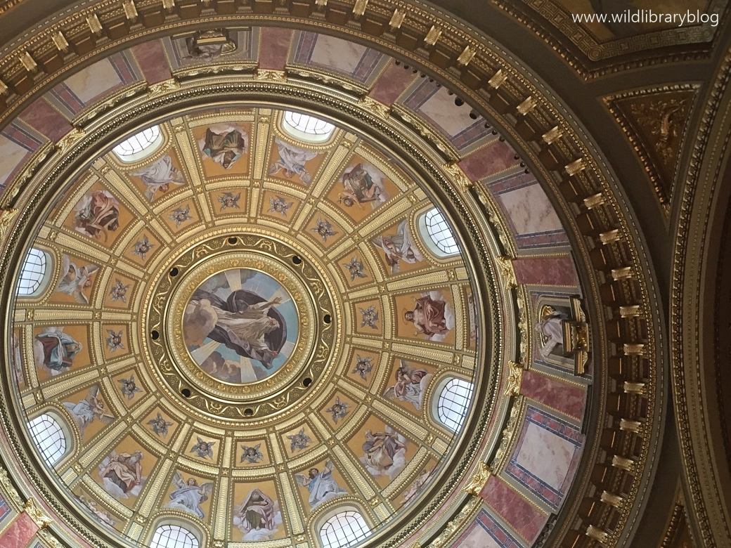 The colours of Budapest_ Wild Library blog_St Stephen's basilica
