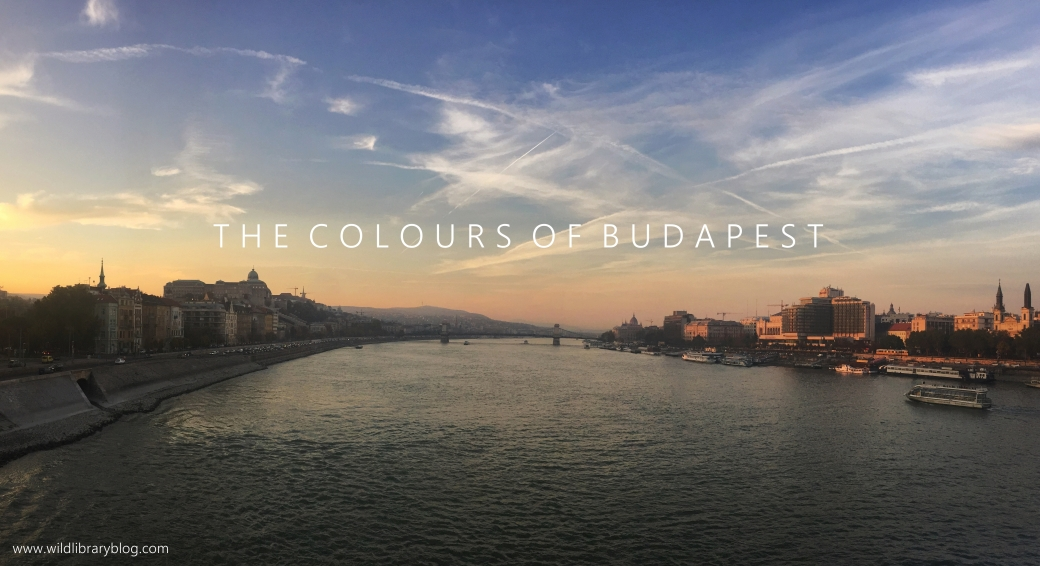 The colours of Budapest_ Wild Library blog_sunset over the Danube